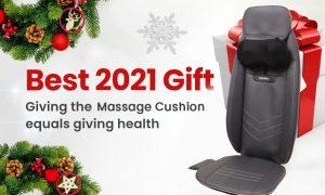 vibrating back massager cushion