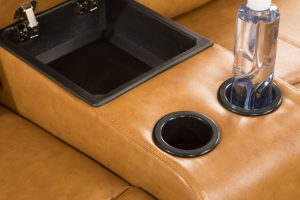 american leather re invented recliner detail