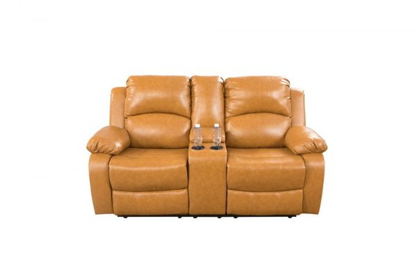 american leather re invented recliner loveseat front