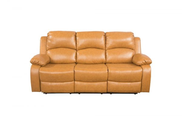 american leather re invented recliner sofa front
