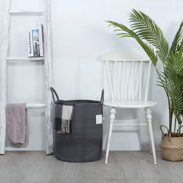 Ainehome Tall Woven Rope Baskets sences