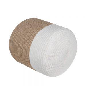 Ainehome XXXLarge Cotton Rope Basket white 1