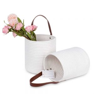 Cotton Rope Laundry Hamper by Ainehome