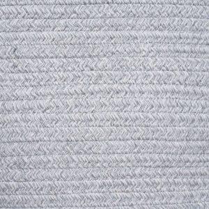 Large Capacity Woven Laundry Hamper gary details