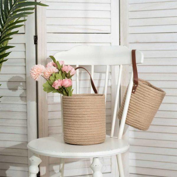 Laundry Baskets-Laundry Hamper,Storage Basket with Handles