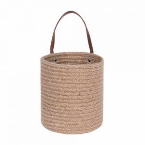 Laundry Baskets-Laundry Hamper,Storage Basket with Handles white details