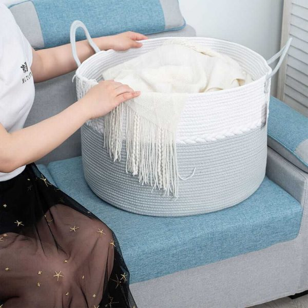 Storage Nest Extra Large Cotton Laundry Basket Gift