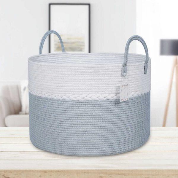 Storage Nest Extra Large Cotton Laundry Basket Gift sences