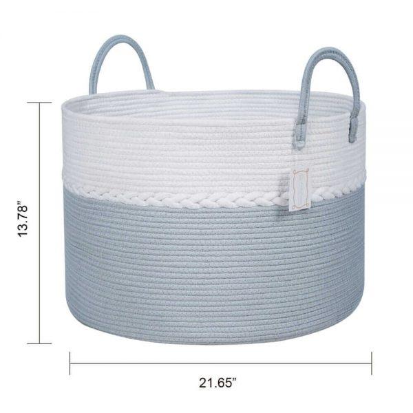Storage Nest Extra Large Cotton Laundry Basket Gift size