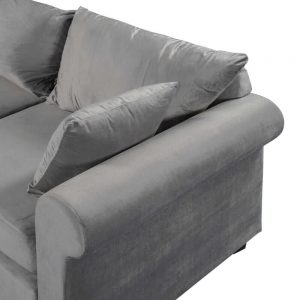 U_STYLE Sectional Sofa Couch,L-Shaped Couch for Small Space,Grey details1
