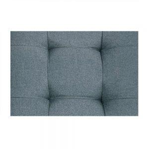 ACME Earsom Sectional Sofa in Gray Linen detail